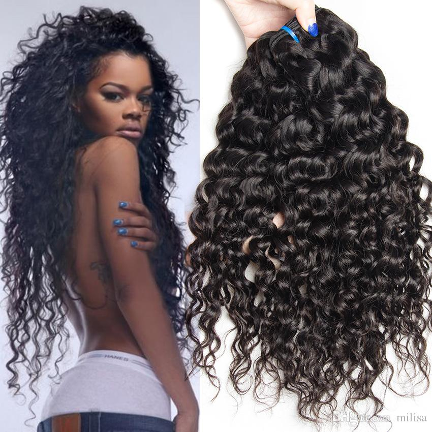 3 Bundles Peruvian Water Wave Virgin Hair Ocean Wave Hair Weave