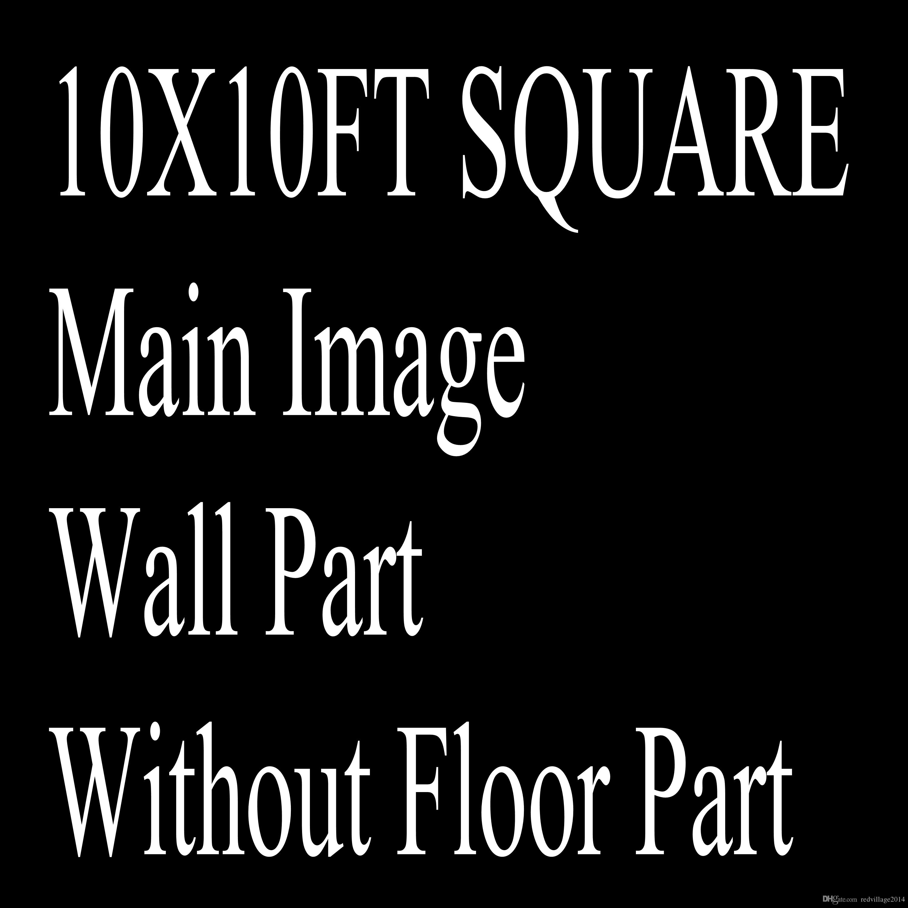 Wholesale Custom 10X10FT/6.5X6.5FT Square Photography Studio Background Backdrop For Camera Photos/Make Notes With Model /ID Number