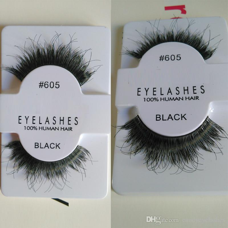 human hair Eyelashes Fake Eye Lashes silk false Thick Eyelash faux human hair eye lashes silk false eyelash sexy lash