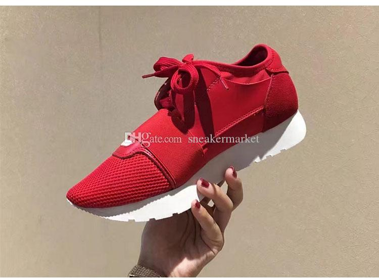 Fashion Colorful Patchwork Mesh Mixed Colors Trainer Sneakers High Quality Designer Genuine New Race Runner Shoe Woman Casual Shoe Man