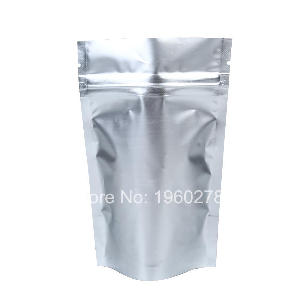 Brand New 8.5x13cm 3.25x5in Tear Notch Home Storage Silver Aluminum ...