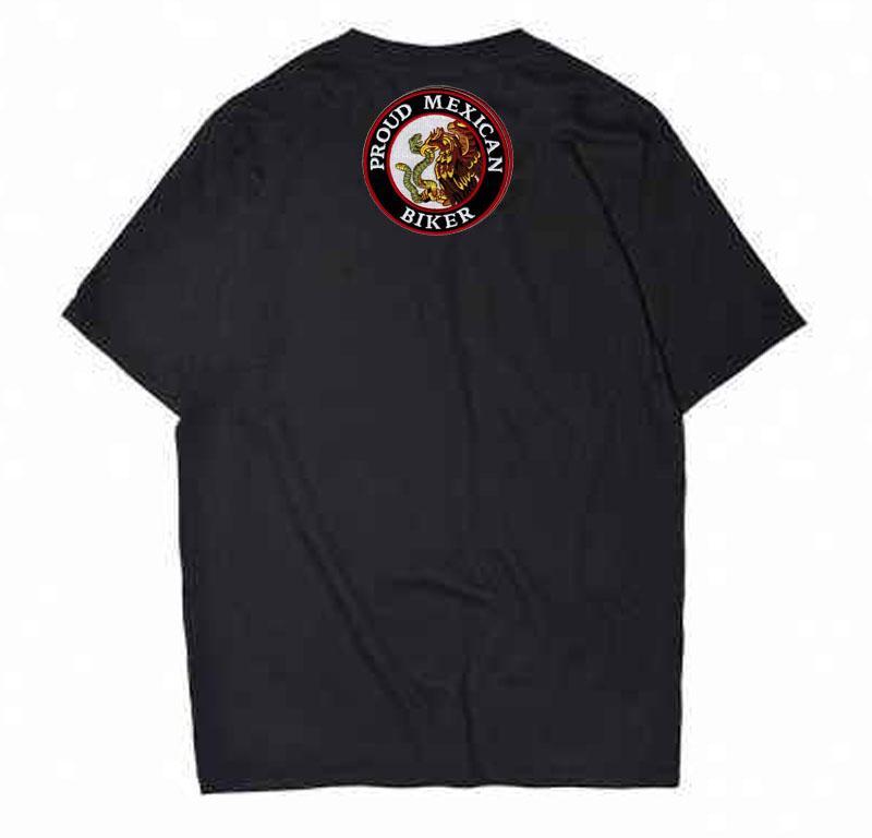 Punti ricamati Fiero MEXICAN Biker MC Patch può essere cucito sulla giacca posteriore e borsa bianca o diverso T-merda