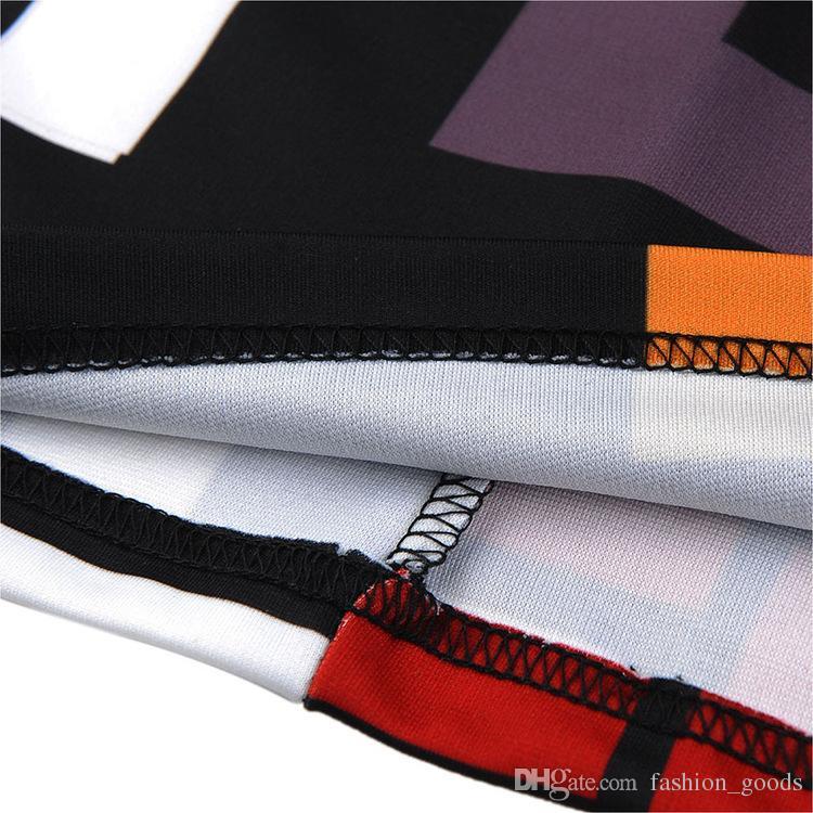 nice gift spring women's sexy Work Dresses zipper Slim dress geometric stitching pencil skirt NLX009