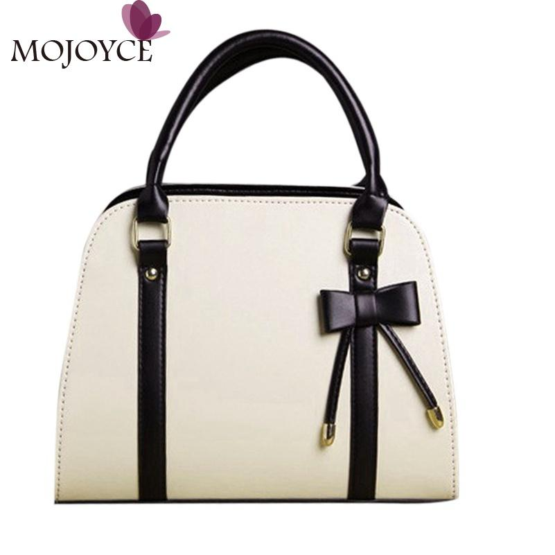 Wholesale- MOJOYCE 2016 Women Handbag PU Leather Women Shoulder Bag ... 50e068e3ddfb9