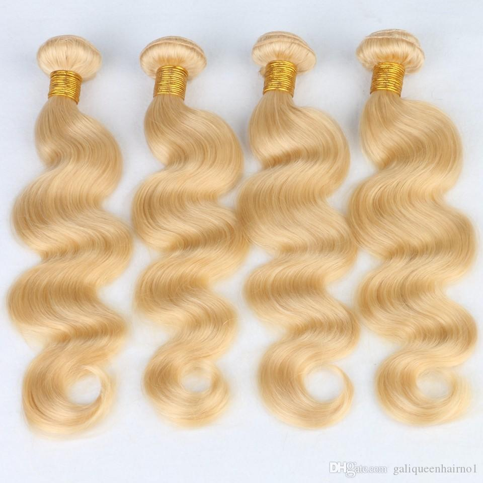 Бразильская объемная волна прямые волосы соткет двойные утки 100г/ПК 613 русский светлый цвет можно покрасить расширения волос Реми человека