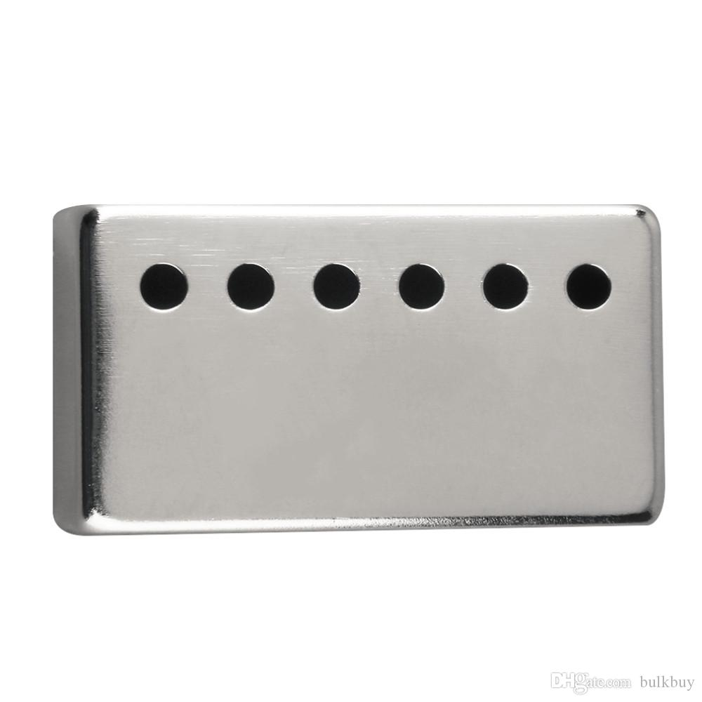 الفضة معدن لاقط تغطية العالمي الغيتار التبعي للغيتار الكهربائي رمز البند: FocalValue5823
