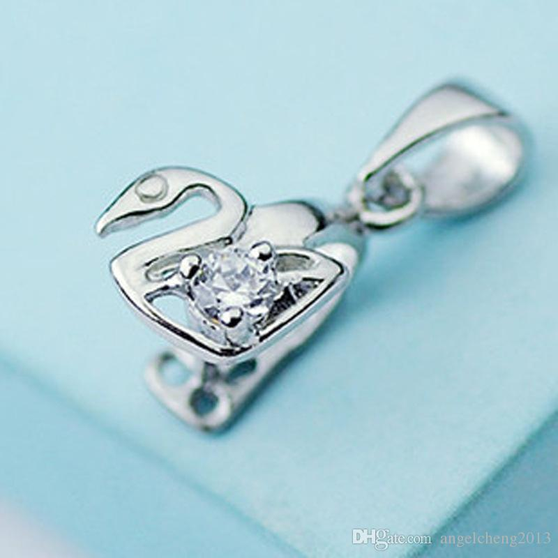 2018 925 sterling silver bail pendant clasp pinch with clear 2018 925 sterling silver bail pendant clasp pinch with clear rhinestone charm swan connector clasp pendant findings bright for diy craft deco from mozeypictures Images