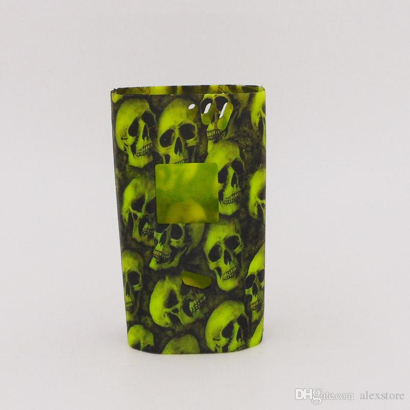 Alien 220w Skull Head Silicone Case Rubber Sleeve Protective Cover Skin For Smok SmokTech Alien 220 TC Box Mod Starter Kit Vape