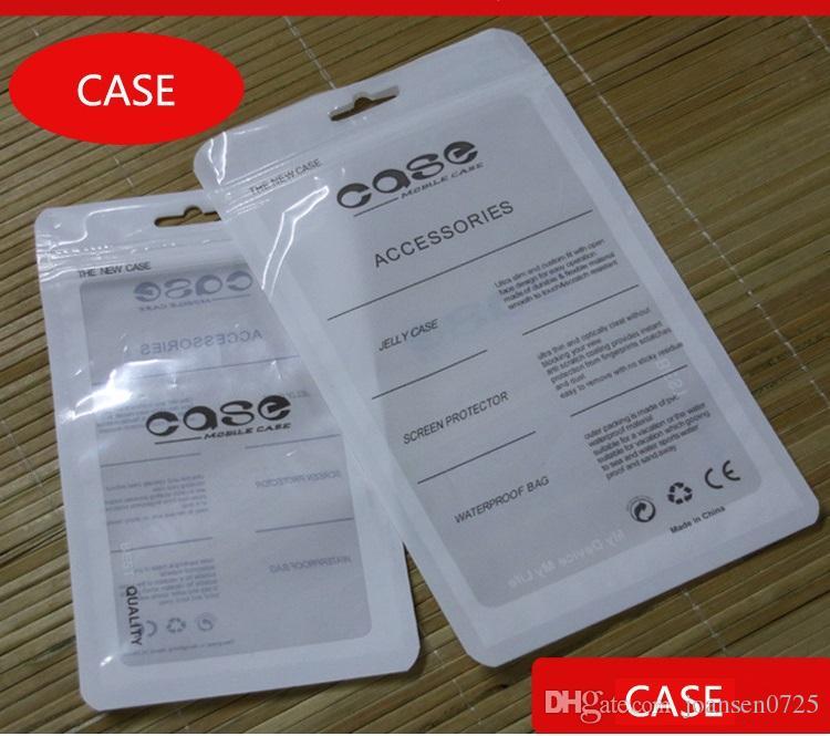 Zip Lock Mobile Téléphone Accessoires Cas Écouteurs Câble USB Au Détail Emballage Sac OPP PP PVC Poly En Plastique Emballage Sacs pour iPhone 6 7 8 X Note8