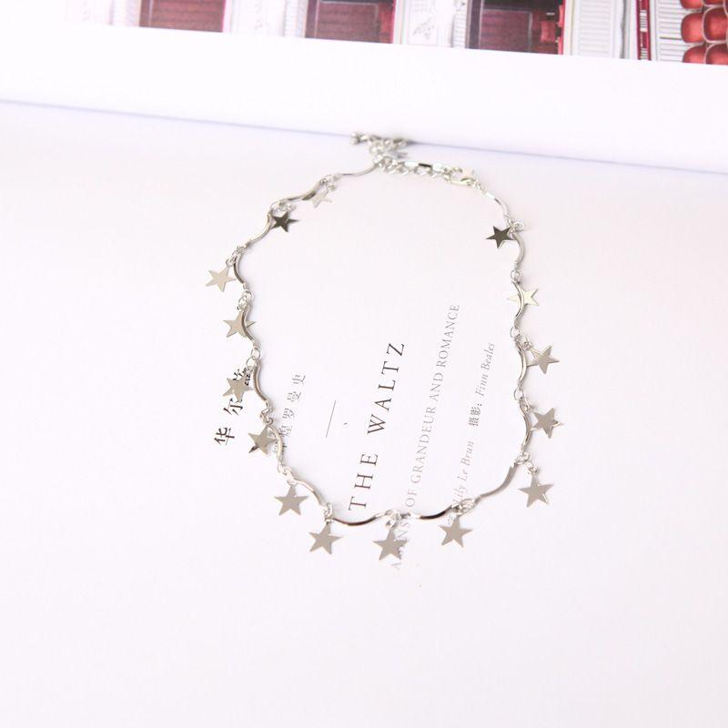 2017 Gilr design Fashion New Simple Bead Collane con fiori tre disegni layernecklace donna HX041