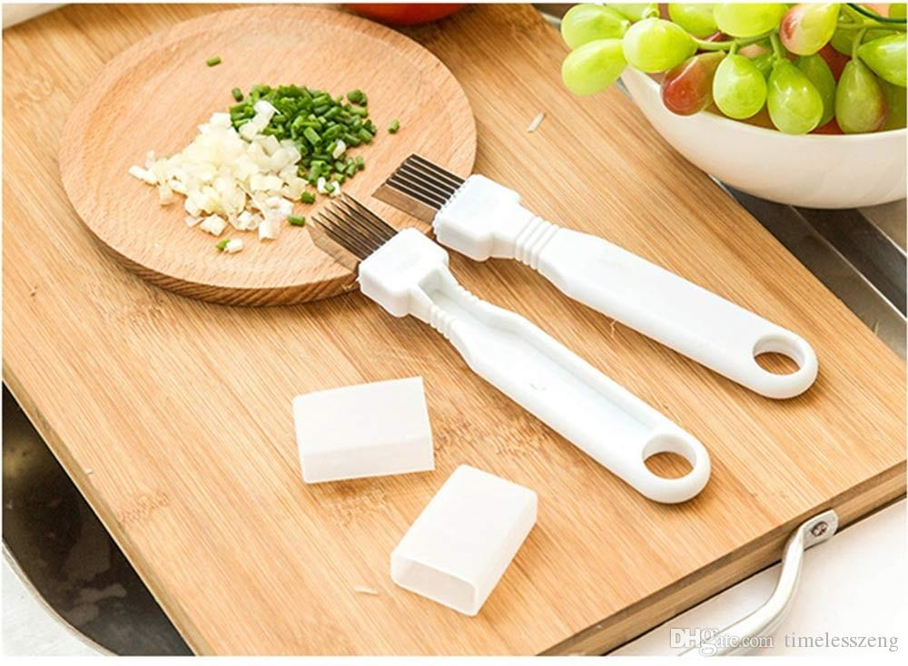 Kitchenware Vegetable Knives Magic Multiple Blade Shredded Green Onion Knife Cut Spring Onion Device Kitchen Cooking Tools