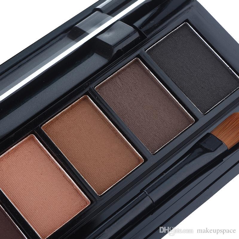NOVO Brand Fashion Shimmer Matte Eye Shadow Paletas de maquillaje Paleta de sombra de ojos luz Natural Make Up Cosmetics Set With Brush