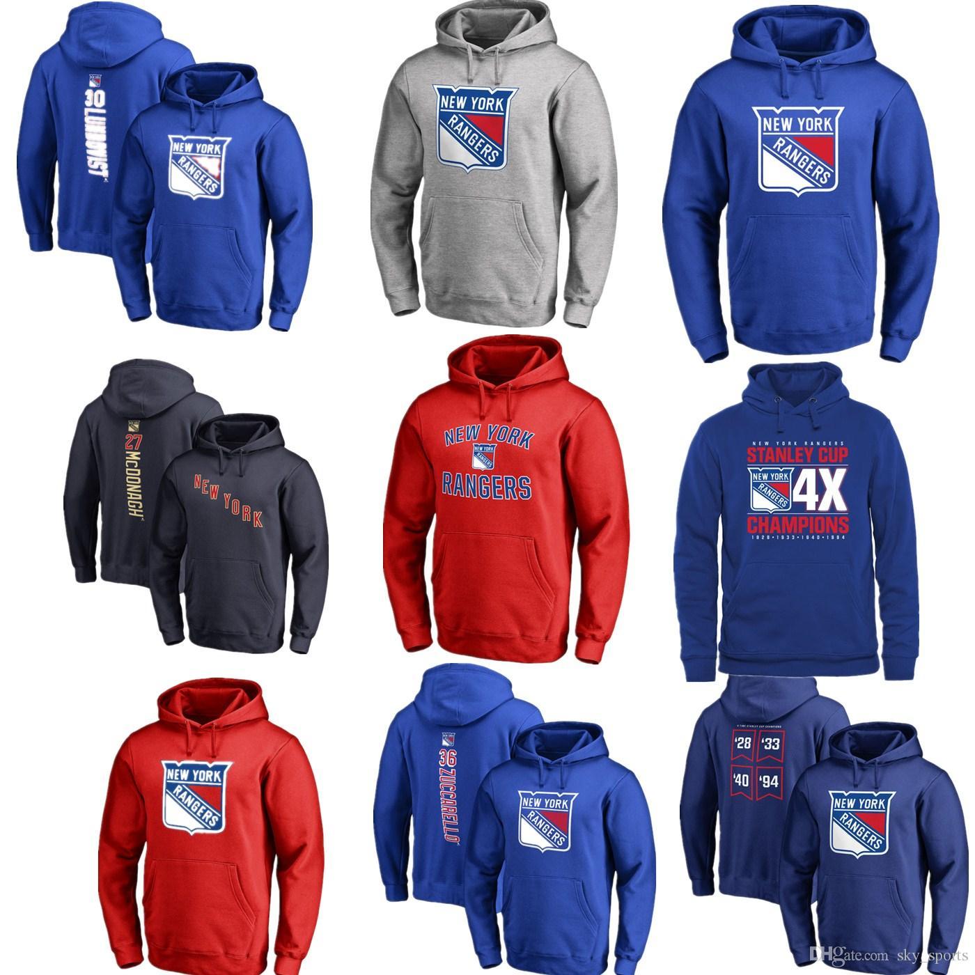 2019 2017 Nhl New York Rangers 30 Henrik Lundqvist 27 Ryan Mcdonagh