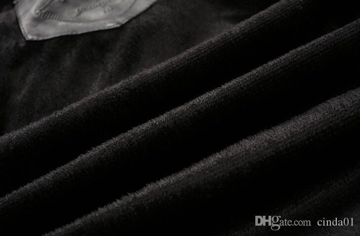 2017 봄 가을 재킷 남성 Preppy Stye 캐주얼 루즈 남성 재킷 착용 폭탄 망 Fawx Leather Jackets Coats New