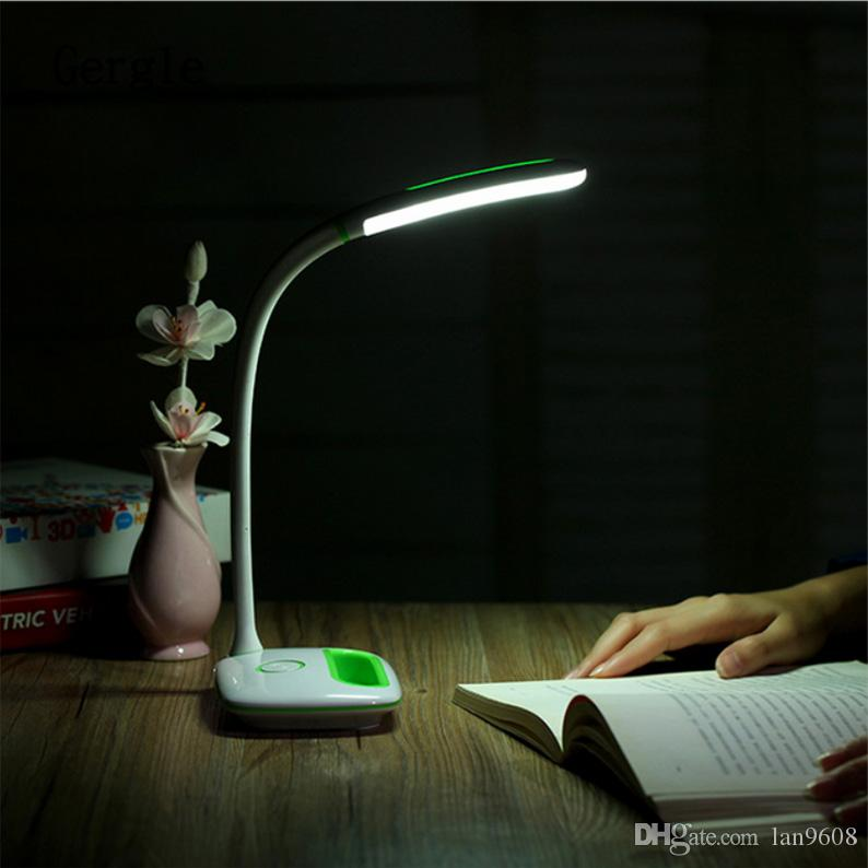 Led eye lamp intelligent usb charge stepless dimming student bedroom desktop product green pink blue purple choice