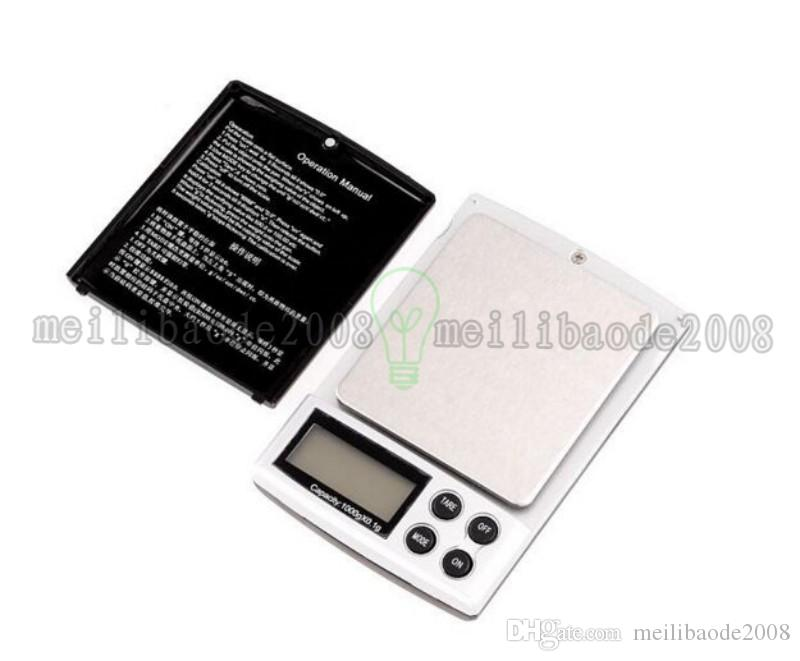 Portable LCD Mini Electronic Balance Weight Scale Pocket Jewelry Diamond Weighting Scales 1000g x 0.1g MYY
