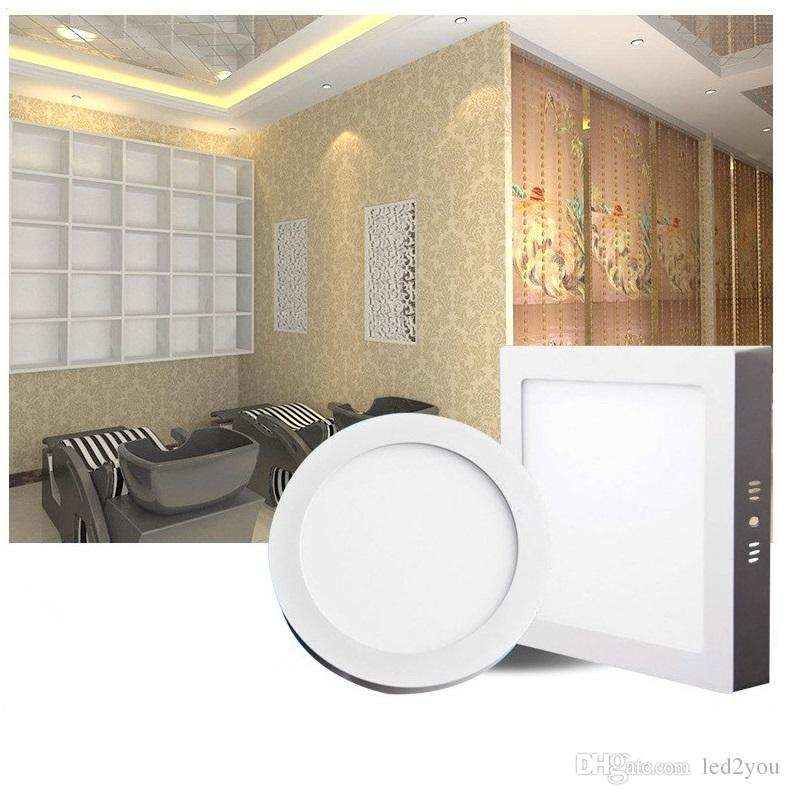 25w square led panel ceiling lights high quality white surface mounted ceiling lights for indoor lighting led down light recessed lights downlights online