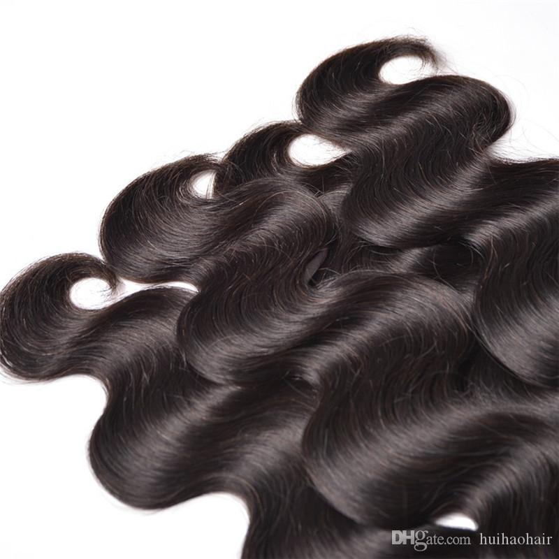 Moğol vücut dalgası saç 8A işlenmemiş 3bundles çok Moğol ucuz insan saçı 100g pc toptan saç