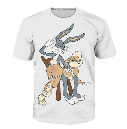 Newest Popular Womens/Mens Bugs Bunny Lola Bunny Jersey Spanking ...