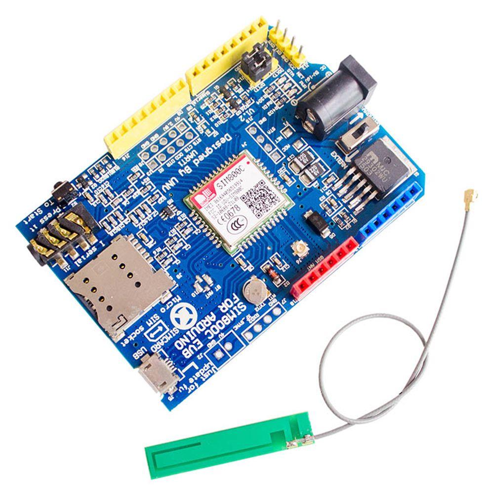 SIM800C Development Board GSM GPRS Module Support Message Bluetooth For  Arduino Instead Of SIM900