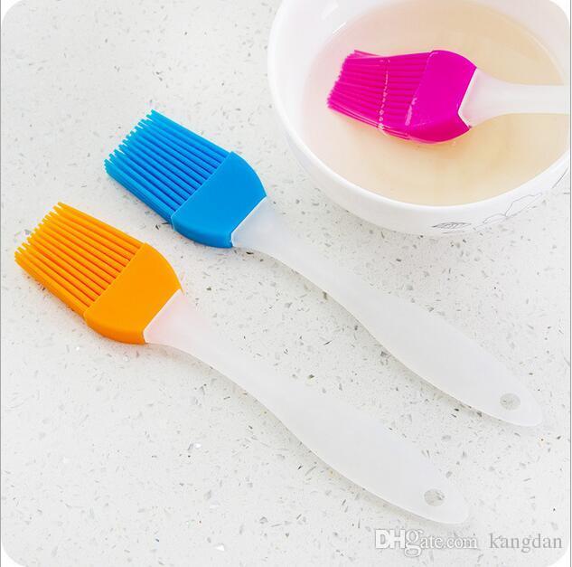 Escovas Grill CHURRASCO Escovas de Silicone manteiga Escova de manteiga Óleo de Cozinha Cozinhando Degustação Escova de Cozinha Bakeware Ferramenta de Churrasco de Jantar