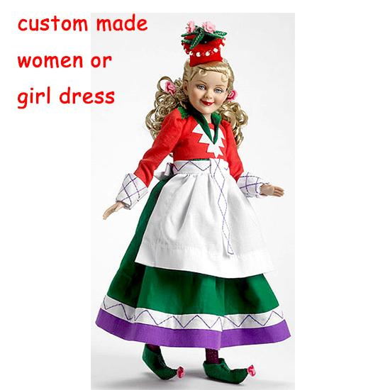 Custom Made Women Red Munchkin Costume Wizard Of Oz Girl Party Cosplay Costume Good Costumes For A Party Good Halloween Costumes For 3 People From ...  sc 1 st  DHgate.com & Custom Made Women Red Munchkin Costume Wizard Of Oz Girl Party ...