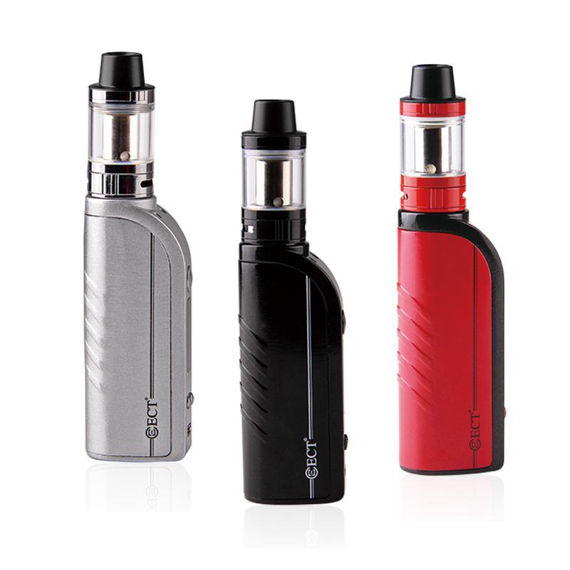 factory wholesale ECT B50TC Kit VW 5-50W 2200mah electronic cigarette battery 0.3ohm 2.0ml e cigarette vaporizer dhl