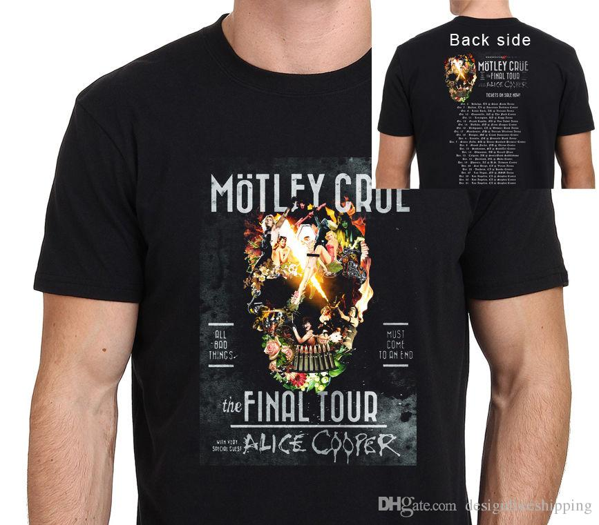 6b1a8591c 2017 Hot Sale Super Fashion Crew Neck Motley Crue The Final Tour ...