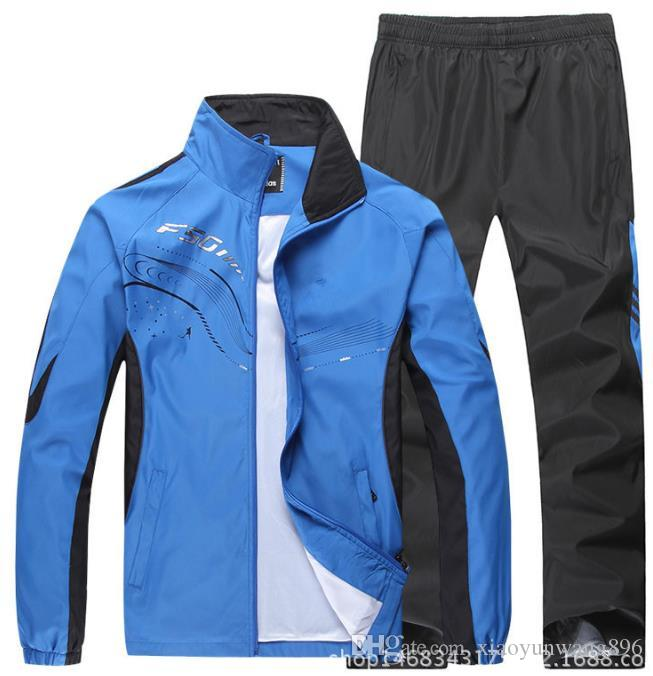 Men's sports suit new listing Men's casual sports suit high-grade outdoor sports suit