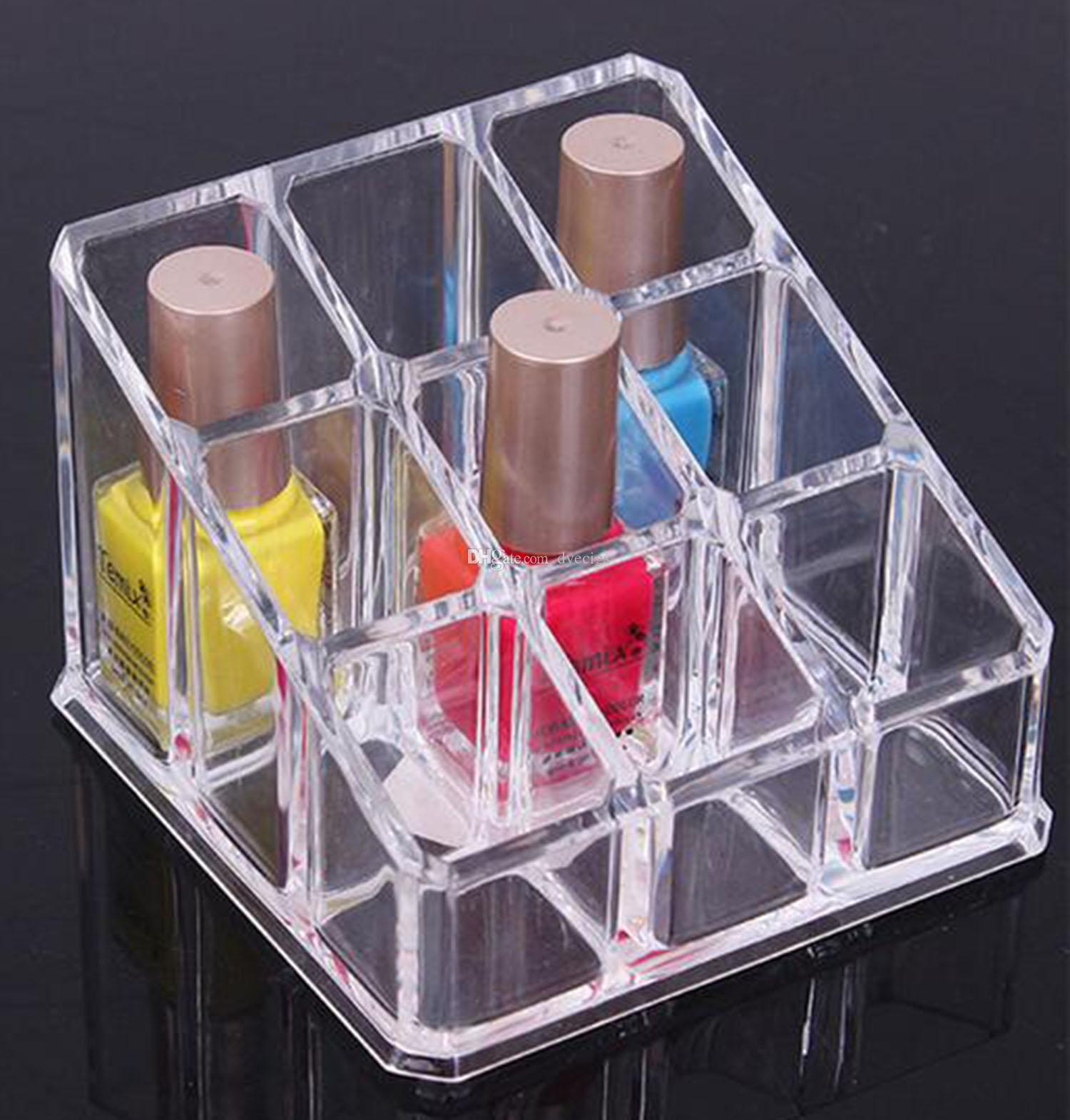 lipstick organizer nail polish makeup case cosmetic stand display rack holder makeup train case office storage from dyecigs 573 dhgatecom