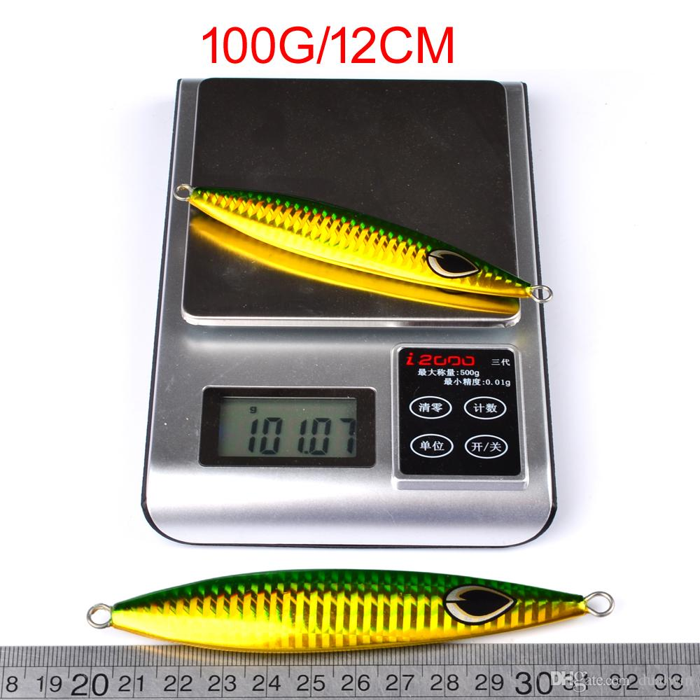 Lead fish 60g-160g fishing lure fishing Bait Casting Lure Deep Bass Fishing Tackle Exported to Japan