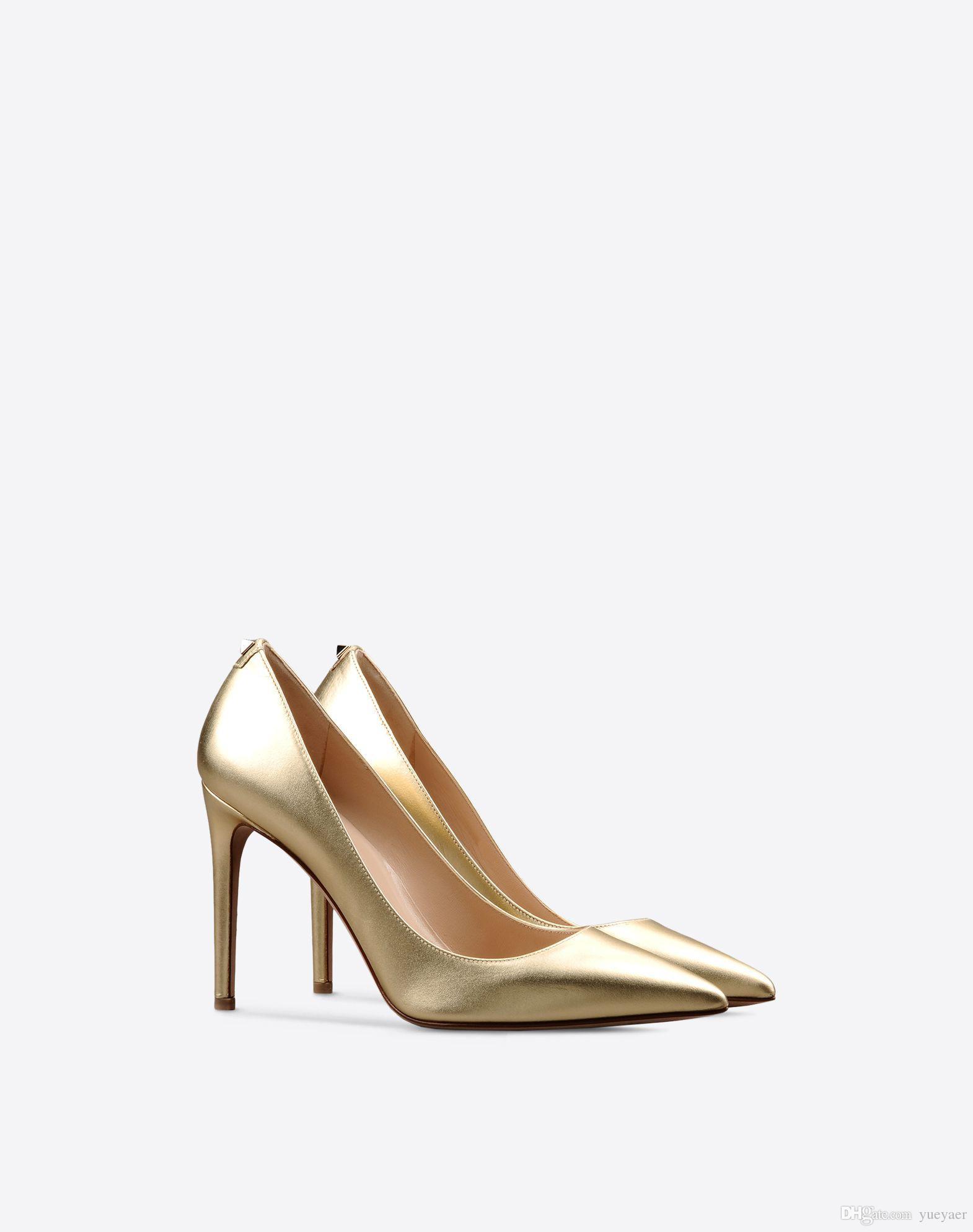 Zandina Womens Handmade Fashion 100mm One Stud Heel Back Pointy Party Office High Heels Pumps Shoes