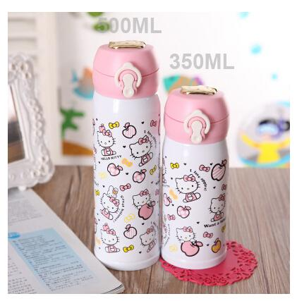wholesale new anime hello kitty cup thermos child stainless thermos