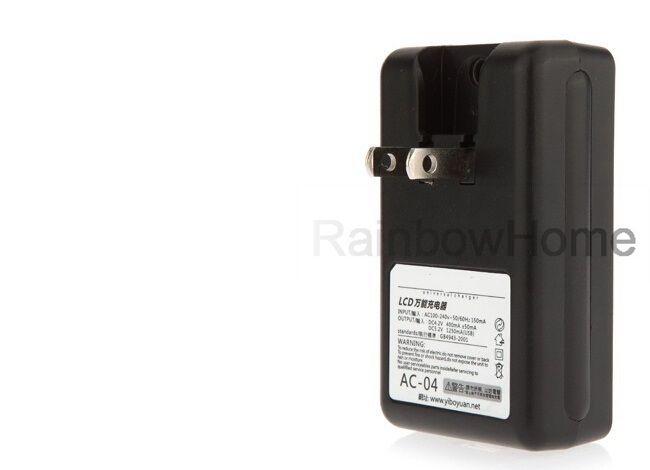 Uniwersalny Inteligentny Ładowarka Baterii Ekran LCD do Samsung Galaxy S5 S4 S3 Uwaga 3 HTC Xiaomi Nokia USB Output USB Wtyczka UE