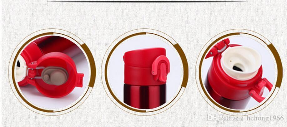 Edelstahl-Becher hitzebeständige Starbucks-Vakuumschale mit aufprallenden Deckungs-Wasserflaschen für Männer und Frauen 17jz KK