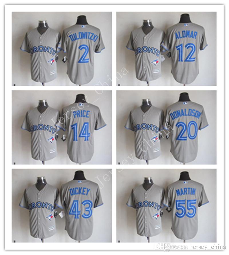 1b04caa99 ... r.a. dickey blue  2018 cheap yonth mens jersey toronto blue jays grey  mlb baseball jerseys 19 jose bautista 20