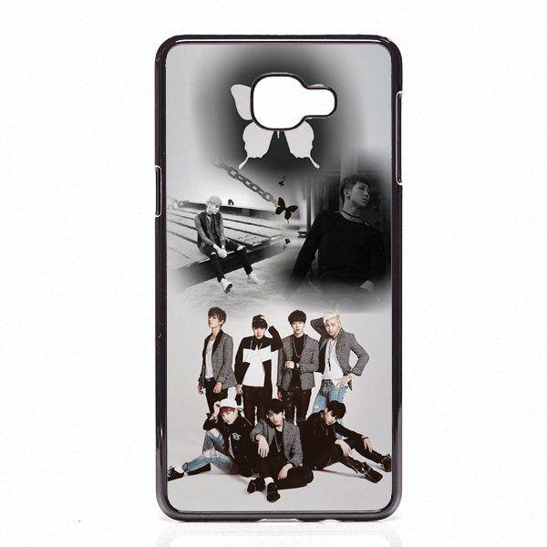 best service 6e984 f934e Bangtan Boys BTS Rap Monster Phone Covers Shells Hard Plastic Cases For  Samsung Galaxy A3 A5 A7 A8 2015 2016 2017