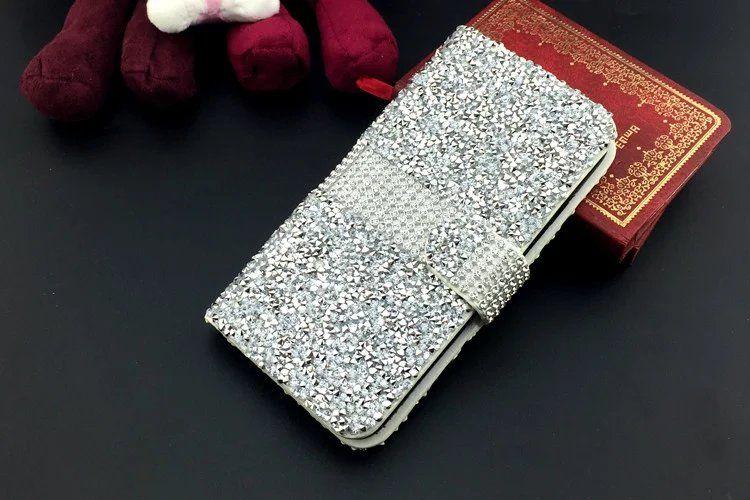 для iPhone 7 Кошелька Алмазного чехла iPhone 6s чехол Bling чехол Кристалл PU кожа карты слота для Galaxy S7 S7edge