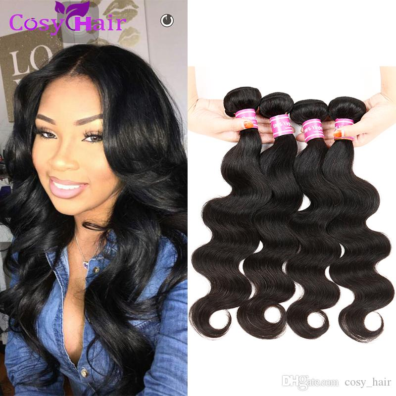 peruvian body wave hair bundles brazilian malaysian indian