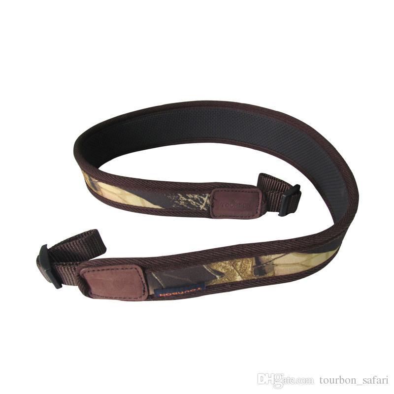 Tourbon Caça Tiro Camo Neoprene Gun Rifle Shotgun Sling Gun Strap Belt Estilingue Gun Macio e Confortável