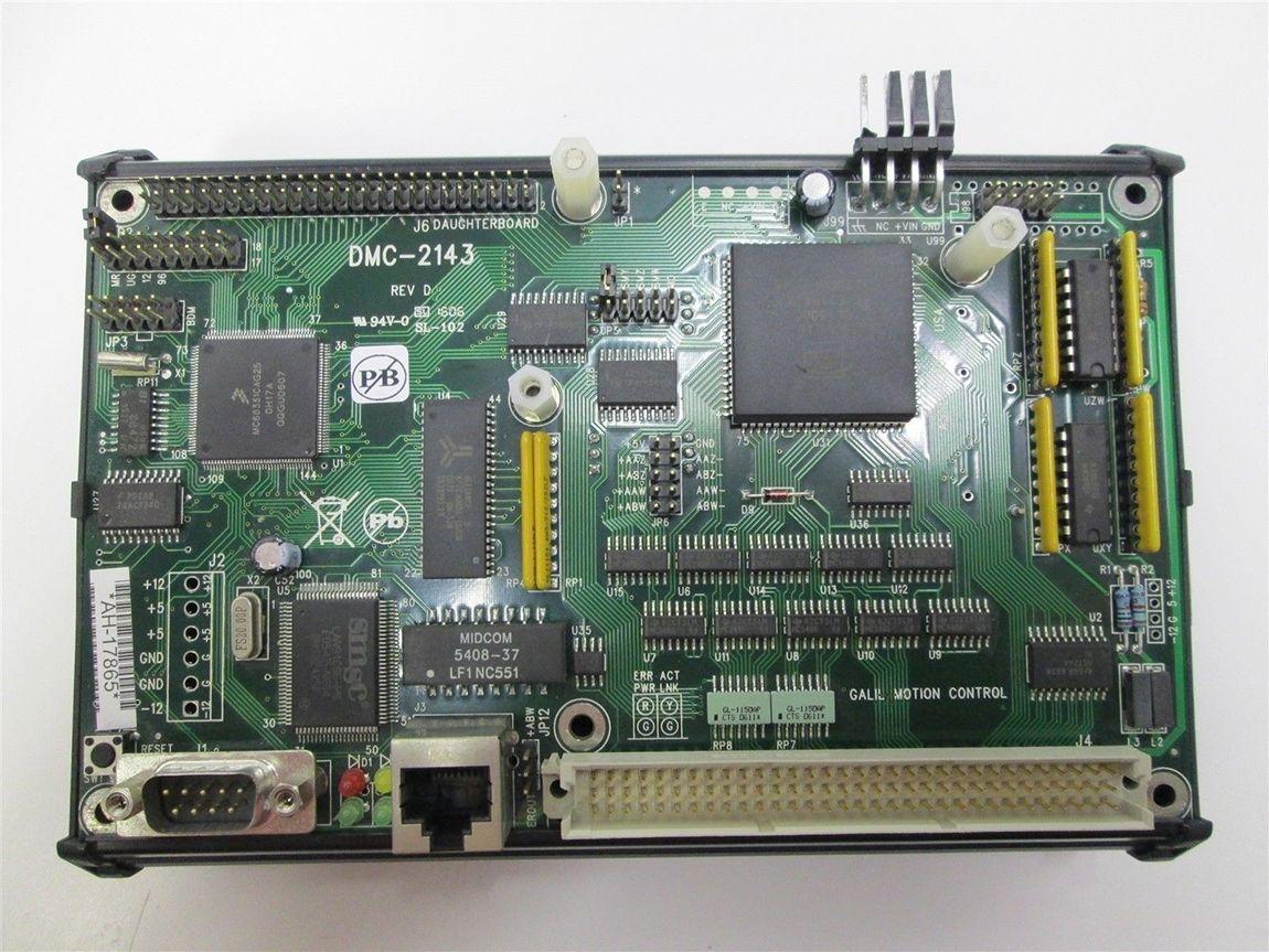 DMC-2143 Amplificatore di movimento Motion Module ICM-20100 Motion Control Card testato al 100% funzionante, usato, in buone condizioni con warran
