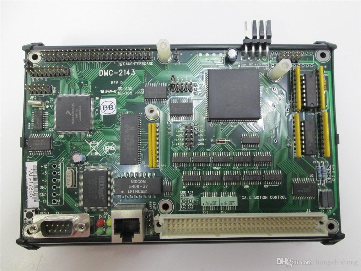 DMC-2143 Motion Control Módulo Amplificador ICM-20100 Motion Control Card 100% testado trabalho, usado, bom estado com warran