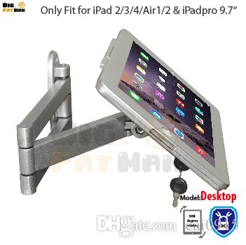 tablet mount for ipad tablet display folding retractable holder brace specialized frame housing wall mount stand for ipad air from cai0915 - Ipad Wall Mount