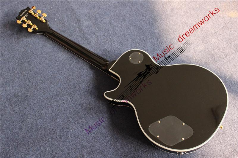 China OEM electric guitar one piece wood of the neck, variety of styles to choose from.