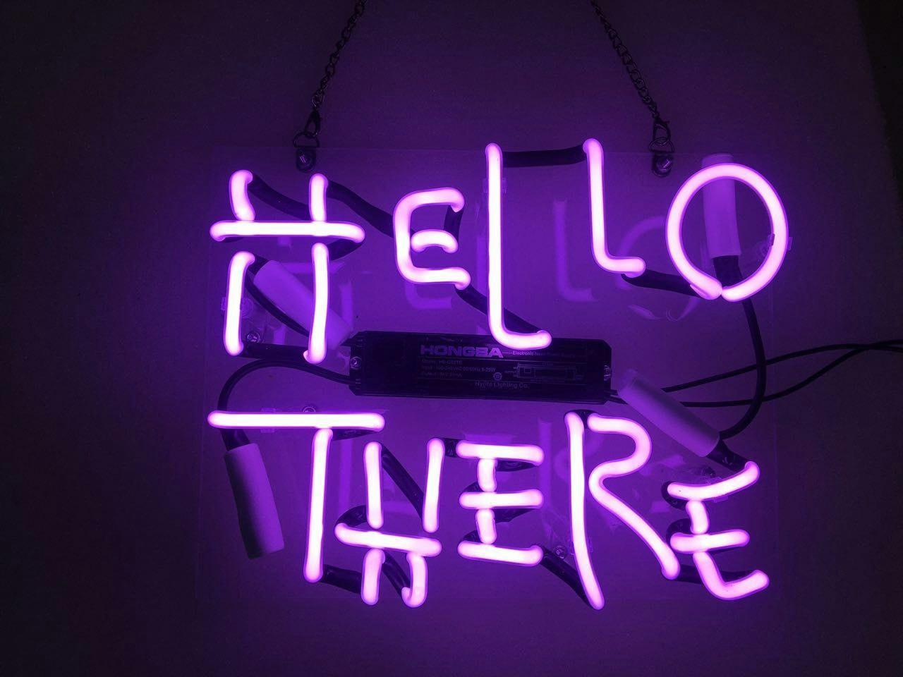 2018 14x12 hello there neon sign light pub store display home 2018 14x12 hello there neon sign light pub store display home night wall lamp decorative artwork from customneon 5846 dhgate aloadofball Image collections