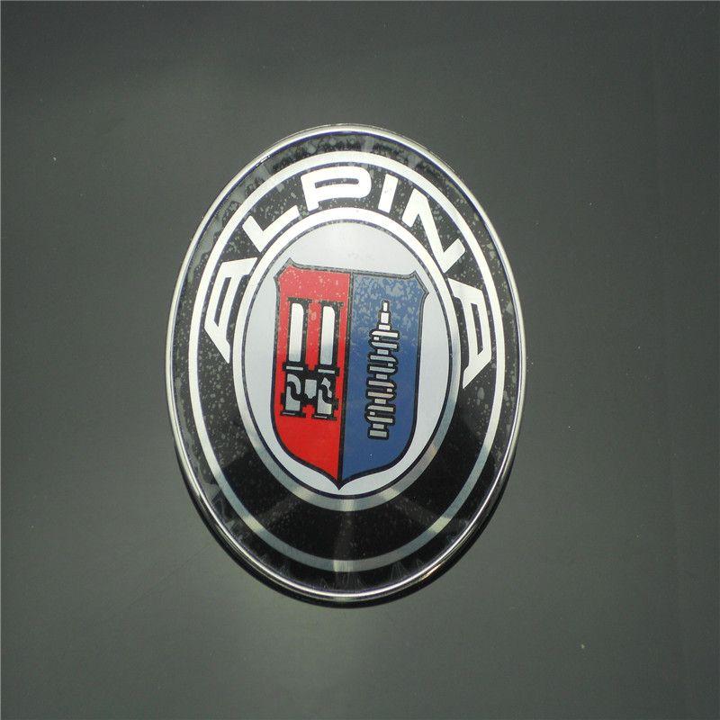 / 82mm 엠블럼 배지 ALPINA 크롬 보닛 후드 용 E9 E21 E28 E30 E46 E87 E90 무료 배송