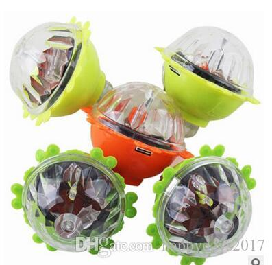 wholesale Friction gyro child LED gyroscope flash children's toys party gifts hot sale