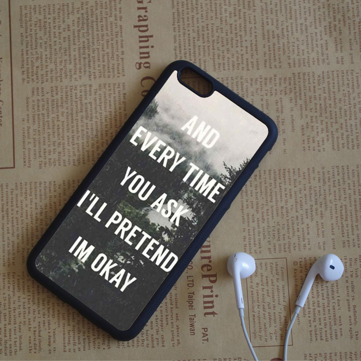 Cell Phone Quotes Shawn Mendes Quotes Phone Cases For Iphone 6 6S Plus 7 7 Plus 5 5S