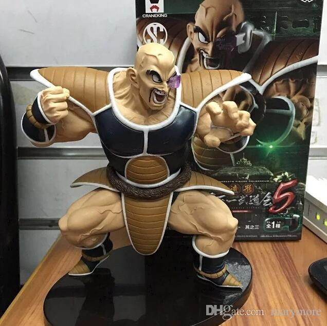 Super Saiyan Dragon Ball figure Nappa Raditz Anime Japanese Model action figure collection toys with box 14cm PVC T7016