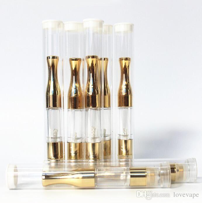Gold Vape Stift Patronen G2 Zerstäuber Knospe Patrone Bud Touch o Stift CE3 Zerstäuber 510 Öl Verdampfer Patrone Vape Öl Clearomizer Tank